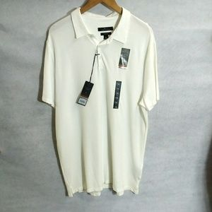NWT mens MARC ANTHONY LUXURY SLIM FIT polo